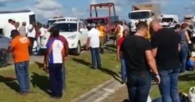 Al menos 17 turistas heridos durante accidente de tránsito en la Autopista del Coral