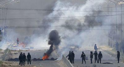 Al menos 3 muertos y 30 heridos en enfrentamientos en Bolivia