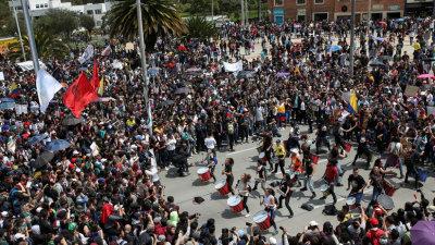 Alcalde de la ciudad colombiana de Cali decreta toque de queda tras protestas ciudadanas