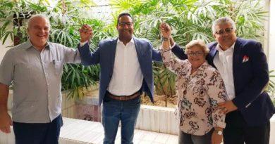 PNVC apoya Benny Metz como candidato a senador por San Cristóbal