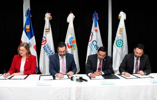 Firman memorándum de entendimiento para quinta versión HUB Cámara Santo Domingo 2020
