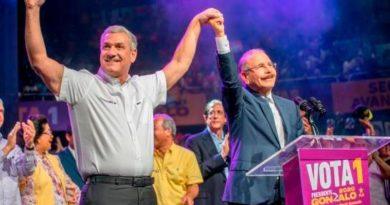 ATENCIÓN: Danilo Medina carga sobre sus hombros candidatos del PLD para elecciones 2020