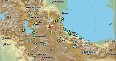ALERTA :Varios muertos y centenares de heridos por un sismo de magnitud 5,9 en el noroeste de Irán