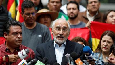 """El excandidato opositor Carlos Mesa afirma que """"no hubo golpe de Estado"""" en Bolivia"""