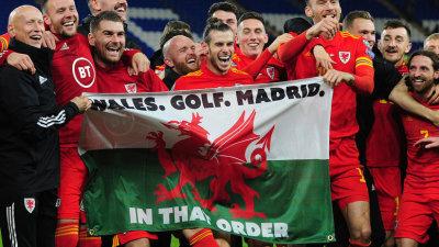 El gesto de celebración de Gareth Bale con Gales que tiene molesta a la hinchada del Real Madrid