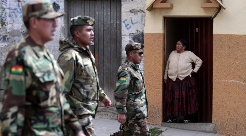 """Fuerzas Armadas de Bolivia realizarán operativos """"para neutralizar a grupos armados que se encuentran actuando fuera de la ley"""""""
