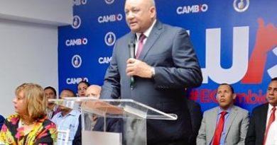 Fulcar ve posible que el PLD retire a Gonzalo antes de que monte su candidatura