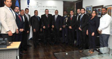 Presidente de la Junta de Aviación Civil se reúne con el Presidente electo de Guatemala