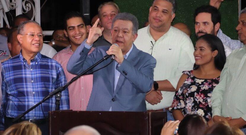 Leonel asegura se construye gran alianza opositora para vencer a cúpula palaciega