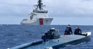 La Guardia Costera de EE.UU. intercepta en el Pacífico un barco con más de 2.200 kilos de cocaína