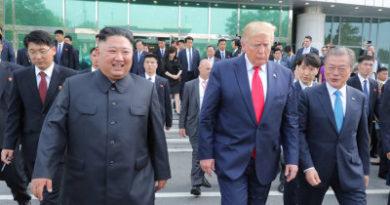 """""""¡Nos vemos pronto!"""": Trump insinúa que planea reunirse con Kim Jong-un en un futuro cercano"""