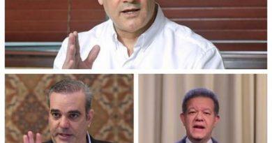 SE APRIETA LA COSA: Coaliciones para elecciones: 10 partidos respaldan a Gonzalo, 6 a Luis Abinader y 6 a Leonel Fernández