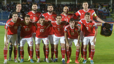 Rusia derrota a San Marino 5-0 en su último partido de clasificación para la Eurocopa 2020