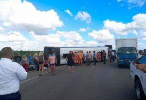 ATENCIÓN: En estado crítico 15 de los 41 turistas rusos accidentados en autovía del Coral