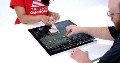 Gameboard-1, el juego de tablero que sustituye el tablero por una pantalla táctil