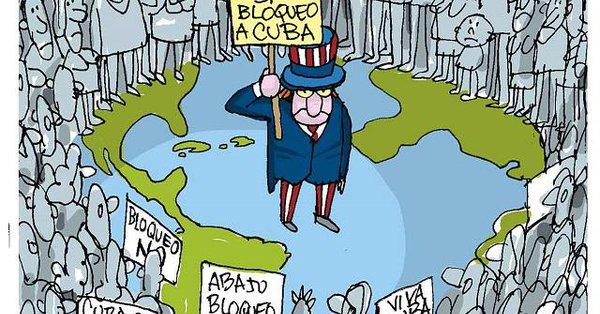 Con el voto en contra de EE.UU., Israel y Brasil, la Asamblea General de la ONU vota a favor de levantar el bloqueo a Cuba