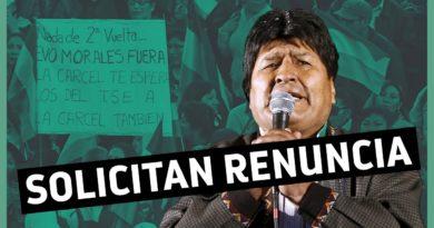 """PRESIÓN:Voces de la oposición piden que Morales no participe en los nuevos comicios por ser """"responsable de fraude"""""""