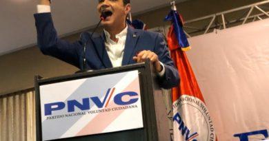 Ramfis celebra por lo grande oficialización de su candidatura presidencial y la de sus candidatos congresuales y municipales