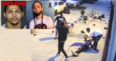 VIDEO: Detienen sospechoso por asesinato de dominicano durante atraco en el Alto Manhattan