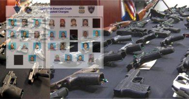 """En Massachusetts caen 18 pandilleros trinitarios por armas, drogas y otros crímenes en """"Operación Emerald Crush"""""""
