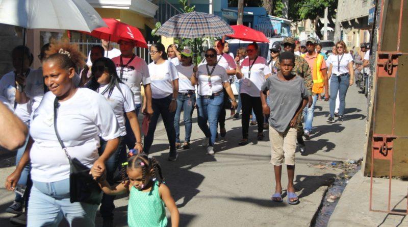 Autoridad Portuaria marcha contra violencia de género