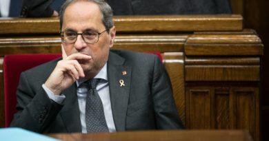 El presidente de Cataluña, condenado a un año y medio de inhabilitación por desobediencia