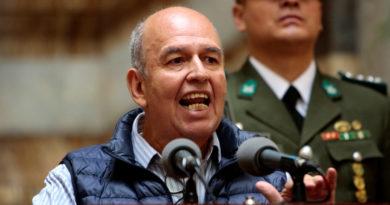 """El Gobierno de facto de Bolivia cree que México debería retirar el asilo al exminitro Quintana para juzgarlo por """"terrorismo"""""""