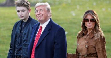 Melania Trump explica la diferencia entre su hijo Barron y Greta Thunberg