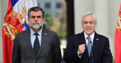 Subsecretario del Interior de Chile renuncia a su cargo en medio de multitudinarias protestas