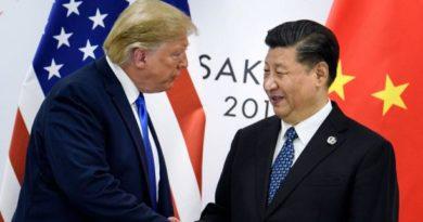 """Donald Trump anuncia cierre de la primera fase de """"un acuerdo comercial muy grande"""" con China"""