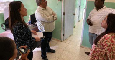 Director del SNS recorre hospitales de la Región Sur