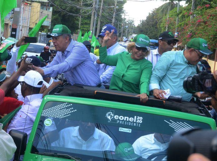 Leonel recorrerá este sábado la Línea Noroeste en apoyo a candidatos municipales
