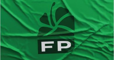 Este es el nuevo logo del PTD, convertido en Fuerza del Pueblo