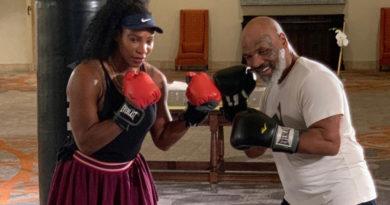 """La lección de boxeo de Mike Tyson a Serena Williams que hace que el expúgil no quiera """"subir al cuadrilátero"""" con la tenista"""