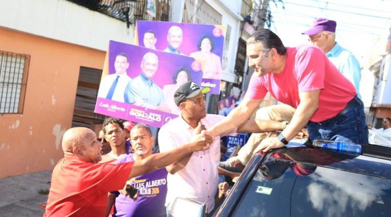 Luis Alberto afirma: demostración de afecto de munícipes confirma victoria febrero.