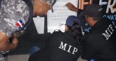 MIP realiza operativos en establecimientos de venta de bebidas alcohólicas