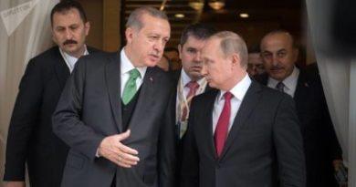 Putin y Erdogan abordan la situación en Siria y Libia en una conversación telefónica