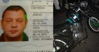 Muere extranjero en Sosúa al chocar su moto contra un poste del tendido eléctrico