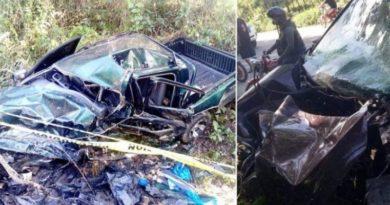 Un muerto y varios heridos en accidente de tránsito en Río San Juan