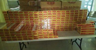 Detienen a un mayor de la FARD por contrabando de cigarrillos