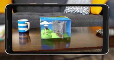 ARCore, la aplicación de realidad aumentada de Google, ya detecta la profundidad de los objetos