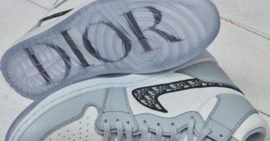 Las Air Jordan 1 vistas por Dior: unas zapatillas de lujo para la primavera de 2020