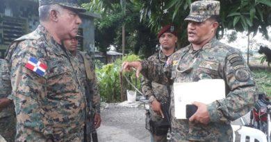 Mayor general Estanislao Gonell Regalado,anunció mayores acciones para detener el trasiego de haitianos