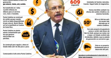 Danilo Medina afirma inversión de Punta Catalina regula sector energético