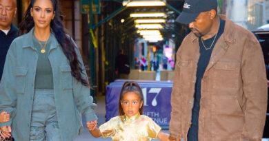 Kardashian y West regalan a su hija una costosa chaqueta de Michael Jackson