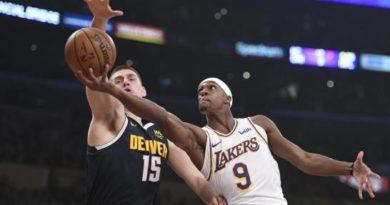 Lakers pierden de los Nuggets en un partido donde no jugó LeBron James