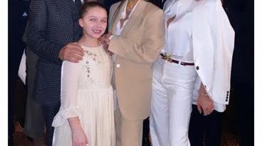 Marc Anthony y Eva Longoria bautizan los hijos de Victoria y David Beckham