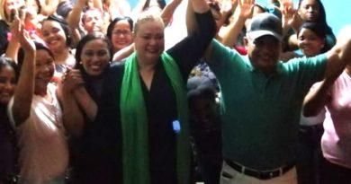 Freddy Roa candidato a regidor PRL Circ No.3 realiza masivo encuentro navideño con presencia de la candidata alcaldesa Rosa Domínguez