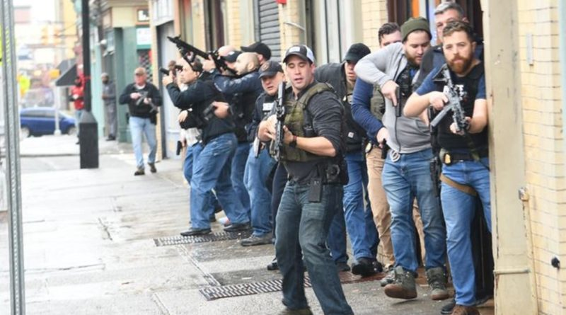Seis muertos incluyendo policía hispano durante enfrentamiento entre narcos y policías en bodega de Nueva Jersey