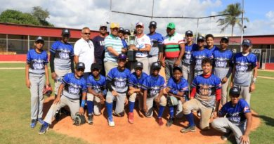Liga Club Naco gana primer torneo Little League de Béisbol